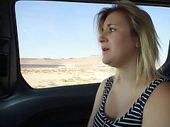 mother Gives son-in-law Handjob on Roadtrip and jacks - Fifi Foxx