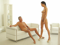 OLD4K. Naughty love making is how old boss and his worker relax...
