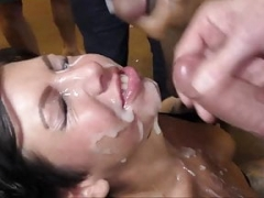 Gina Jameson Gets A Load of Ball cream