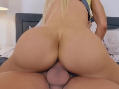Big boobed porn chick named Courtney Taylor riding a fine odng