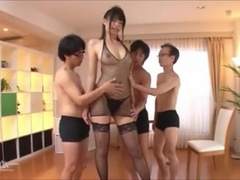 Tall asian uncensored group fucky-fucky