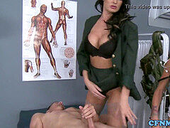 dominating army mistresses in three-way pulverize