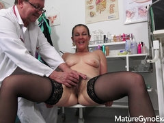 Gyno Exam video with naughty MILF Valentina Ross