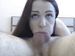 Deep oral action with beauties that like it hard