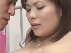 Hot bushy asian female is putting fingers in her lovehole