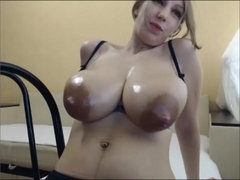 Gorgeous Saggy Hangers with Tons of Milk