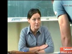 Modest mature educator pummels with student-boy - sex scene from movie