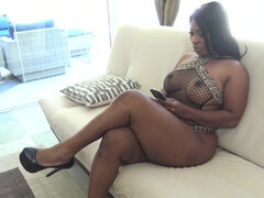 The Ebony GOAT - big tits big ass