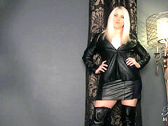 without mercy Leather Gloved Hitwoman