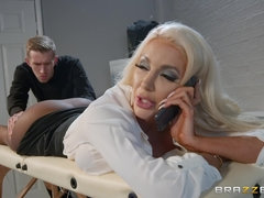 Busty MILF Nicolette Shea is the sexiest female boss in the world