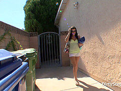 Stepdaughter drilling Her Uncle Next Door - full flick