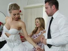 Nicole Aniston,Julia Ann,Johnny Castle Naughty Weddings