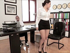moist and ultra-kinky sex with secretary Valentina Nappi and her manager