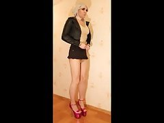 Crossdresser dressing