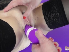 Oldnanny 2 Matures and Hook-Up Fucktoy Getting Off