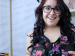 sundress up w/Daisy Dabs 5: young Latina skirt-fuck and creampie pov