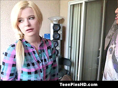 soiree damsel teenage Step Sister Blackmailed Into Creampie By Horny Brother