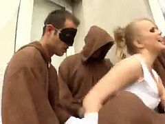 These Monks gangbang the poke Out of the Bride ((FYFF))
