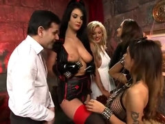 Jasmine Black gets naughty in hardcore orgy