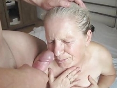 Granny Nelli Bj and besides Facial