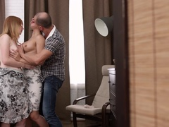 Naughty and Naive: Teen Nanny's Threesome Surprise