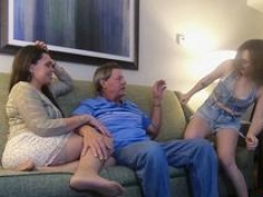 Babysitter fucked by rand additionallyy husband additionally and additionally wife