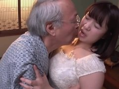 forbidden care - Japanese old and teen
