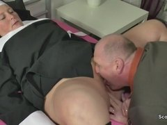German Grandma Nun get Had Coition with not dad in SexTape