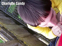 Charlotte Candy Having fun In Public
