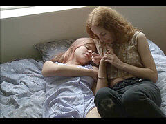 Lesbian sex with scissoring, toys and tongues