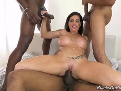 Superstar - milf gangbang interracial