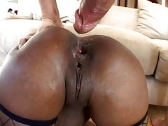 Black beauties get it on with hot white guys