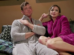 Date Night: Eliza Jane Stuffs Pierce Paris' Balls in His Ass