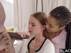 BLACKED Intern Gets Predominated By Mandingo S BIG BLACK COCK