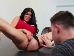 Romi Rain is having some commitment issues in her relationships