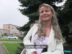 Luscious ladies get paid for sex in public