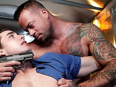 BDSM anal scene with Sean Duran and Jack Hunter
