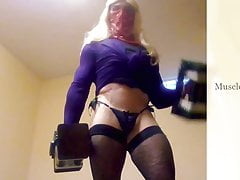 Crossdresser Workout Musclesissy88