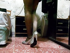 new vid in pantyhose