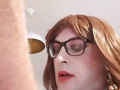 Cleaning Lady Ilona is paid with Sperm