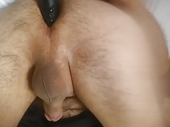 Vibrator in  my hole