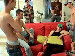 Crying fag punk spanked and twink boy spanked diaper position A Gang smack