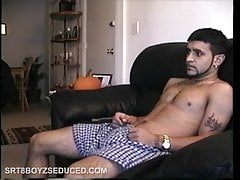 Straight Boy Franco Stroking Cock
