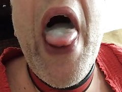 MWM Sucks Off Small Dick, Gets LARGE CIM, Cum Play & swallow