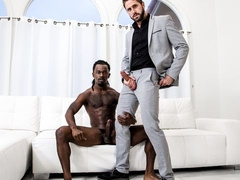 Office worker Wesley Woods fucked by Fame's BBC
