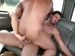 Mf guy fucking tight homo ass with his thick cock