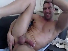 Hot Aussie loves his hole stretched and pounded