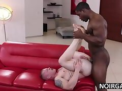Young black step dad fucks son