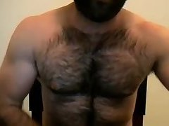 Hairy Shy Man