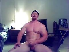 Ginger badass jerking off
